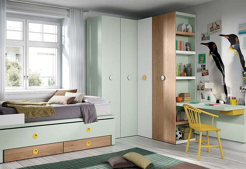 Habitación infantil con temática decorativa