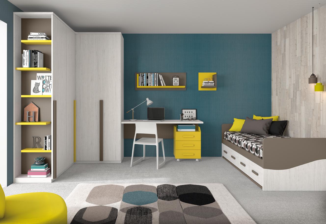 Habitación infantil minimal