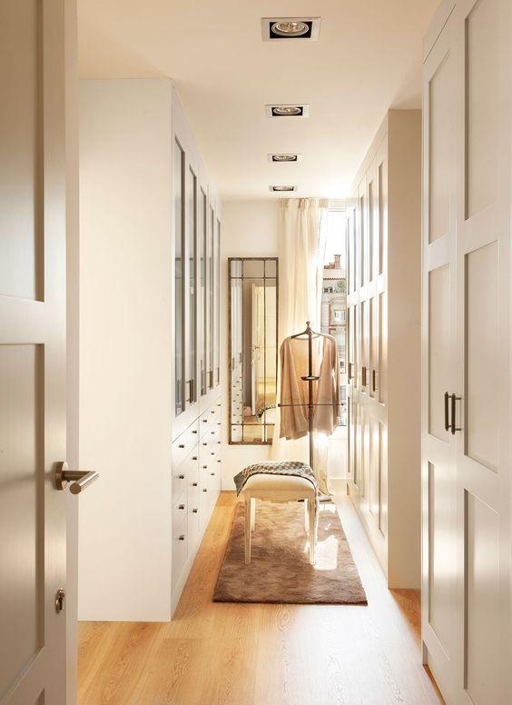iluminar vestidor