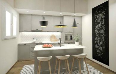 Tipos de mesas de cocina. Mesa de cocina moderna